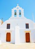 Chiesa gemellata Immagine Stock