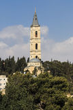 Chiesa Gerusalemme orientale di ascensione immagini stock libere da diritti