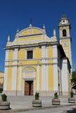 Chiesa gialla Immagini Stock Libere da Diritti