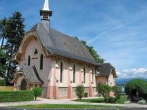 Chiesa a Ginevra, Svizzera Immagine Stock