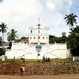 Chiesa Goa di Panjim Immagine Stock