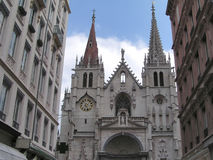 Chiesa gotica 1 Fotografie Stock Libere da Diritti