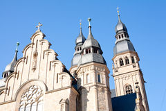 Chiesa gotica Fotografie Stock