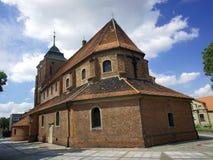 Chiesa gotica con la torretta Immagini Stock Libere da Diritti