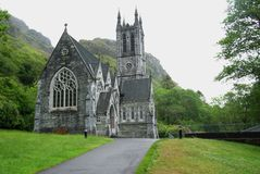 Chiesa gotica in Irlanda Fotografia Stock