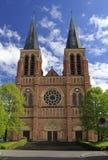 Chiesa gotica nella città austriaca di Bregenz Fotografia Stock