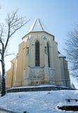 Chiesa gotica in Sighisoara Fotografia Stock Libera da Diritti