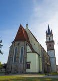Chiesa gotica in Sighisoara, Romania Fotografia Stock Libera da Diritti