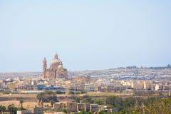 Chiesa in Gozo Fotografie Stock Libere da Diritti