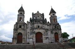 Chiesa a Granada Nicaragua immagini stock libere da diritti