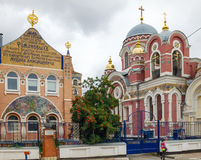 Chiesa granducale Città di Elec Fotografie Stock Libere da Diritti