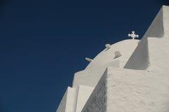 Chiesa greca Fotografie Stock