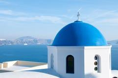 Chiesa greca Fotografia Stock