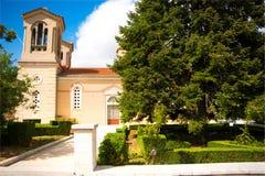 Chiesa greca Immagine Stock Libera da Diritti