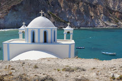 Chiesa greca ortodossa fotografia stock
