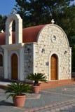 Chiesa in Grecia. Immagine Stock
