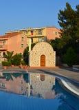 Chiesa in Grecia. Fotografia Stock