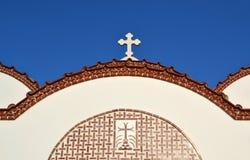 Chiesa in Grecia. Fotografie Stock