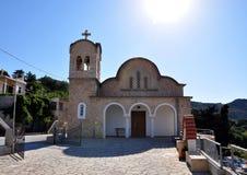 Chiesa in Grecia Fotografia Stock