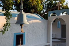 Chiesa in Grecia Fotografie Stock