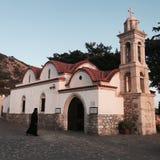 Chiesa in Grecia Fotografie Stock Libere da Diritti