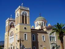 Chiesa greco ortodossa, Itea, Grecia Fotografia Stock