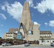 Chiesa in Higüey Immagini Stock Libere da Diritti
