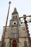 Chiesa II di Cuetzalan fotografia stock libera da diritti