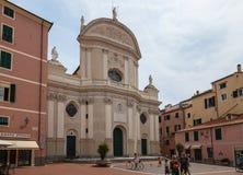 Chiesa a Imperia, Italia fotografie stock libere da diritti