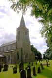 Chiesa inglese del medievil Fotografia Stock Libera da Diritti