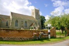 Chiesa inglese del villaggio Fotografia Stock