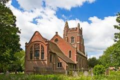 Chiesa inglese tradizionale Fotografie Stock