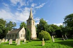 Chiesa inglese tradizionale Fotografia Stock