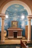 Chiesa interna Fotografie Stock Libere da Diritti