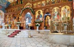 Chiesa interna della resurrezione nella resurrezione santa lunedì Immagini Stock