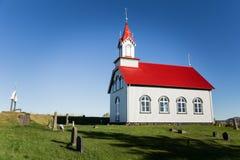 Chiesa in Islanda Fotografia Stock