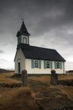 Chiesa islandese Immagini Stock Libere da Diritti