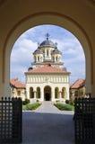 Chiesa in Iulia alba, Romania di riunificazione Fotografia Stock Libera da Diritti