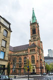 Chiesa Johanneskirche di St John a Dusseldorf, Germania Immagine Stock Libera da Diritti