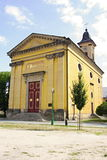 Chiesa in Josefov Fotografia Stock Libera da Diritti