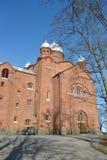 Chiesa Lappeenranta Fotografie Stock