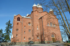 Chiesa Lappeenranta Immagine Stock