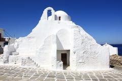 Chiesa lavata bianca Fotografia Stock Libera da Diritti