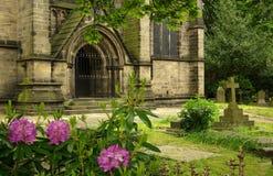 Chiesa a Leeds, Regno Unito Fotografia Stock Libera da Diritti