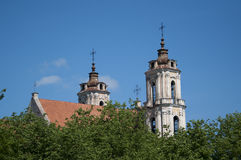 Chiesa in Lituania Fotografie Stock Libere da Diritti