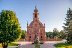 Chiesa in Lituania immagine stock libera da diritti