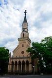 Chiesa, Lucenec, Slovacchia fotografia stock libera da diritti