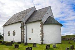 Chiesa luterana antica Fotografia Stock Libera da Diritti