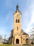 Chiesa luterana in Dubulti, Jurmala, Lettonia Immagine Stock Libera da Diritti