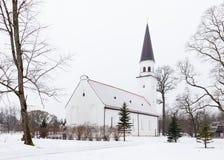 Chiesa luterana evangelica di Sigulda Immagini Stock